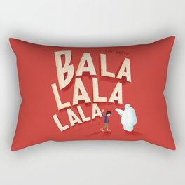 Big Hero 6 Fist Bump Rectangular Pillow