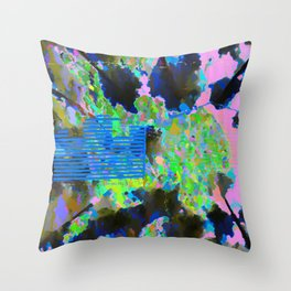 landscape collage #02 Throw Pillow