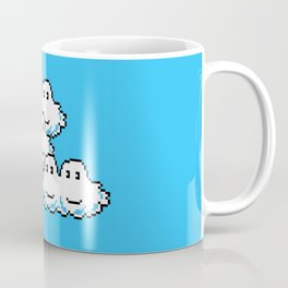 Super Mario Clouds Coffee Mug