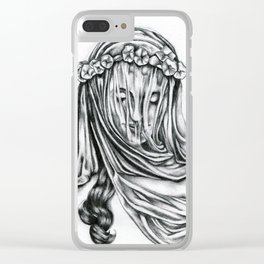Miss Interpretation Clear iPhone Case