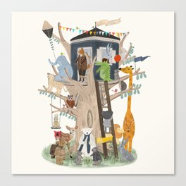 little playhouse Canvas Print