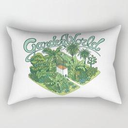 Garden World Rectangular Pillow