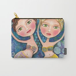 Two Mermaids by Robynne Carry-All Pouch