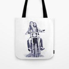 Biker Babes Tote Bag