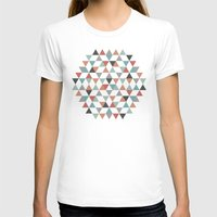 hexagon T-shirts featuring Hexagon by Pavel Saksin