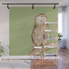 Tawny Owl Wall Mural