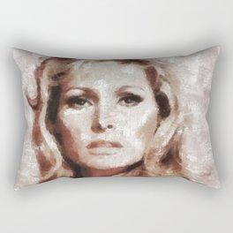 Ursula Andress by MB Rectangular Pillow
