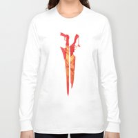 final fantasy Long Sleeve T-shirts featuring Final Fantasy VIII by GIOdesign