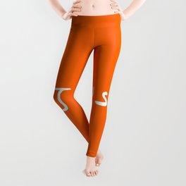 Jesus 4 orange Leggings