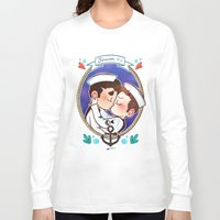 glee Long Sleeve T-shirts featuring Sailor by Sunshunes