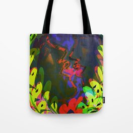 Behind the Leaves / KISS Tote Bag
