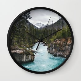 Marble Canyon, British Columbia Wall Clock