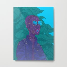 High-flyer Metal Print