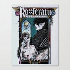 Rozzferatu - Fanart for Rozz Williams Canvas Print