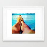 feet Framed Art Prints featuring Feet by Carol MoTa