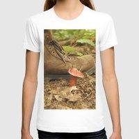 mushroom T-shirts featuring Mushroom by JCalls Photography