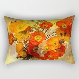 Poppy Expressions Rectangular Pillow