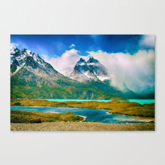 Earth, Water, Air Canvas Print