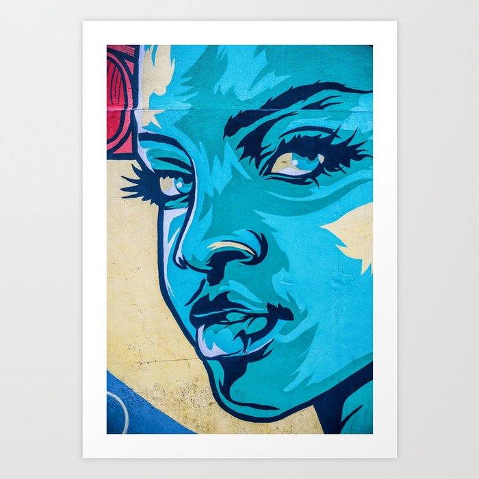 AFH 2018 Street Art 4 Art Print