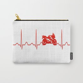 MOTORBIKE HEARTBEAT Carry-All Pouch