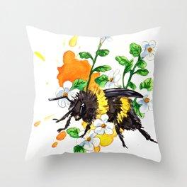 Bumble Cordata Throw Pillow