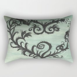 A thorn for every heart Rectangular Pillow