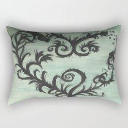 A thorn for every heart Rectangular Pillow