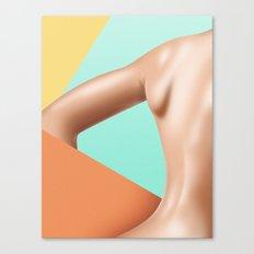B4CK - TV dream series Canvas Print
