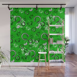 Gamers-Green Wall Mural