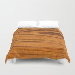 Teak Wood Duvet Cover