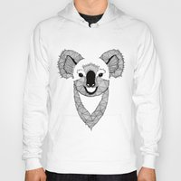 koala Hoodies featuring Koala by Art & Be