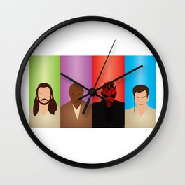 Phantom Menace Wall Clock