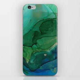 Ocean gold iPhone Skin