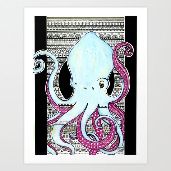 Octopusss Art Print