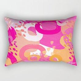 June Abstract Rectangular Pillow