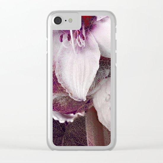 Amaryllis Flower(2) Clear iPhone Case