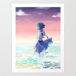 Lapis Lazuli - That Distant Shore Art Print