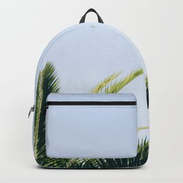 Green Palm Tree Backpack