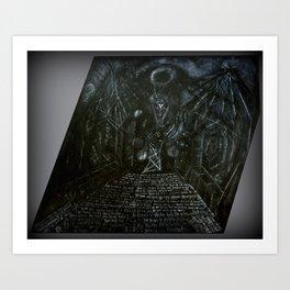 The Haunter of the Dark Art Print