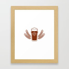 Beer Framed Art Print