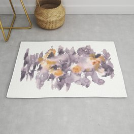 Soft Texture Watercolor | [Grief] Engulfed Rug