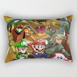 Mario and Friends (Nintendo) Rectangular Pillow