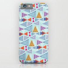 Geometric Mid Century Modern Triangles 2 iPhone 6s Slim Case