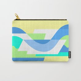 SUISSE - Art Deco Modern: FRESH WATER & SUNSHINE Carry-All Pouch