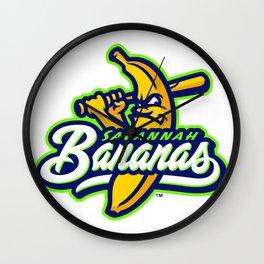savannah bananas Wall Clock
