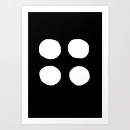 Quattro 001 Art Print