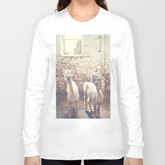 Young Alpacas  Long Sleeve T-shirt