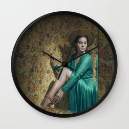 Roses Bloom for You Wall Clock