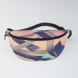 Abstract paper background Fanny Pack