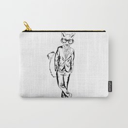 Gentle Fox / B&W Carry-All Pouch